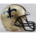 New Orleans Saints throwback 76-99 Riddell Full Size Authentic Football Helmet