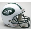 New York Jets Riddell Full Size Authentic Football Helmet