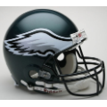 Philadelphia Eagles Riddell Full Size Authentic Football Helmet