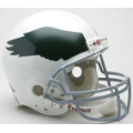 Philadelphia Eagles Throwback 69-73 Riddell Full Size Authentic Football Helmet