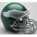 Philadelphia Eagles Throwback 74-95 Riddell Full Size Authentic Football Helmet