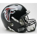 Atlanta Falcons Riddell Revolution Full Size Authentic Football Helmet