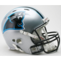 Carolina Panthers Riddell Revolution Full Size Authentic Football Helmet