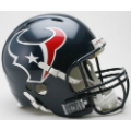 Houston Texans Riddell Revolution Full Size Authentic Football Helmet