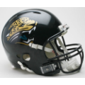 Jacksonville Jaguars Riddell Revolution Full Size Authentic Football Helmet