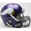 Minnesota Vikings Riddell Revolution Full Size Authentic Football Helmet