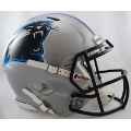 Carolina Panthers Riddell Revolution Speed Full Size Authentic Football Helmet