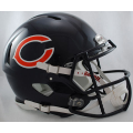 Chicago Bears Riddell Revolution Speed Full Size Authentic Football Helmet
