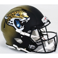 Jacksonville Jaguars Riddell Revolution Speed Full Size Authentic Football Helmet