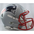 New England Patriots Riddell Revolution Speed Full Size Authentic Football Helmet