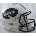 New York Jets Riddell Revolution Speed Full Size Authentic Football Helmet
