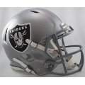 Oakland Raiders Riddell Revolution Speed Full Size Authentic Football Helmet