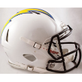 San Diego Chargers Riddell Revolution Speed Full Size Authentic Football Helmet