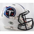 Tennessee Titans Riddell Revolution Speed Full Size Authentic Football Helmet