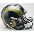 St. Louis Rams Riddell Revolution Full Size Authentic Football Helmet