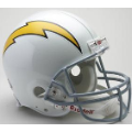 San Diego Chargers Throwback 61-73 Riddell Full Size Authentic Football Helmet
