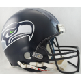 Seattle Seahawks Riddell Full Size Authentic Football Helmet
