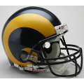 St. Louis Rams Throwback 81-99 Riddell Full Size Authentic Football Helmet