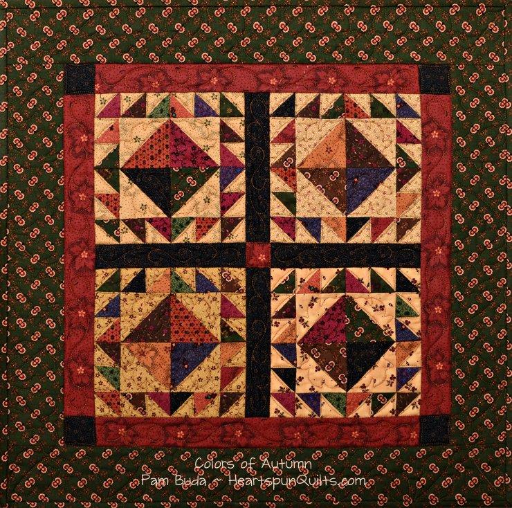Tokens: Autumn Sampler Quilt Trio ~ Complete Kit