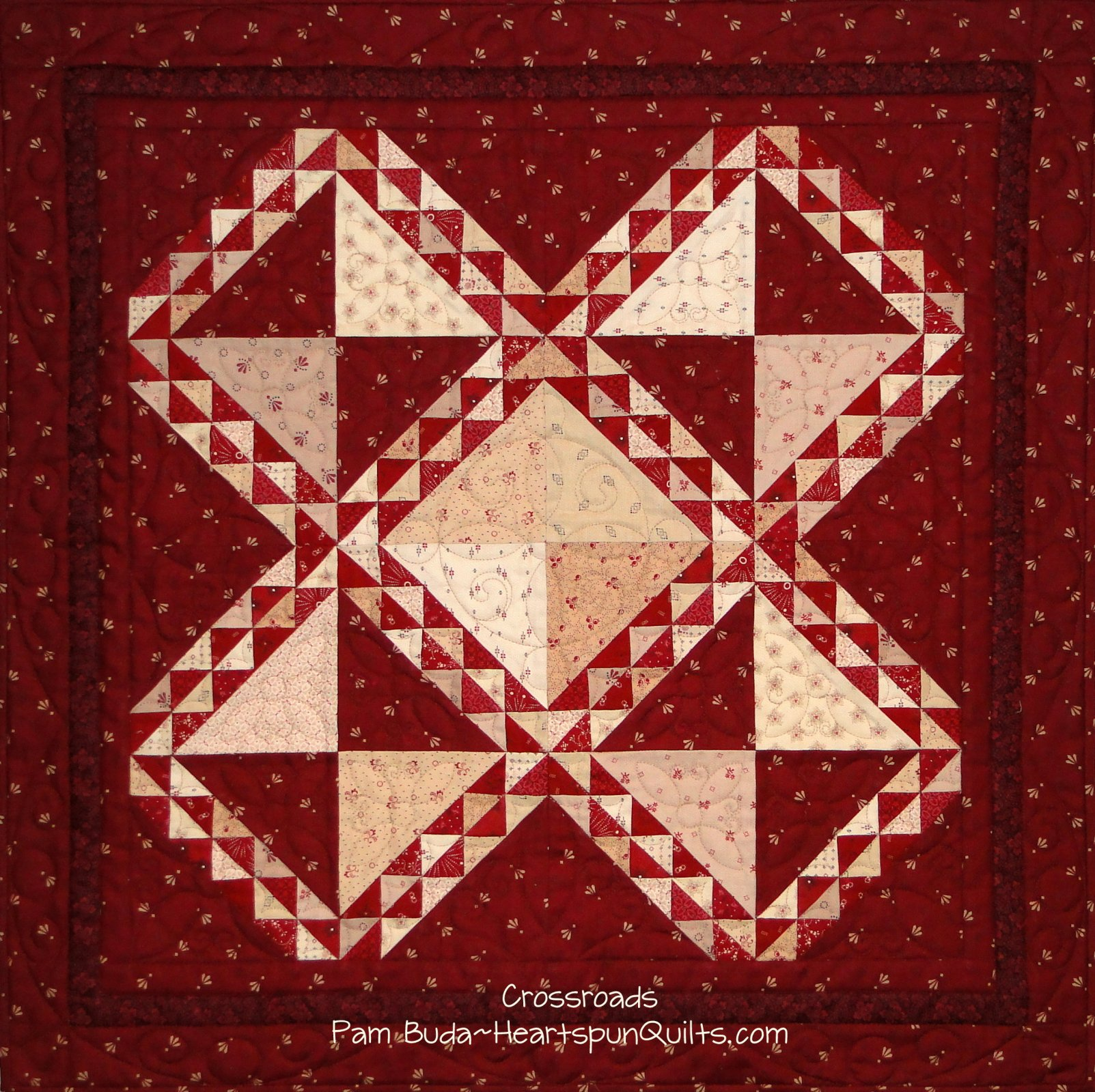 Crossroads ~ Limited Edition Quilt Kit & Pattern ~ Version A