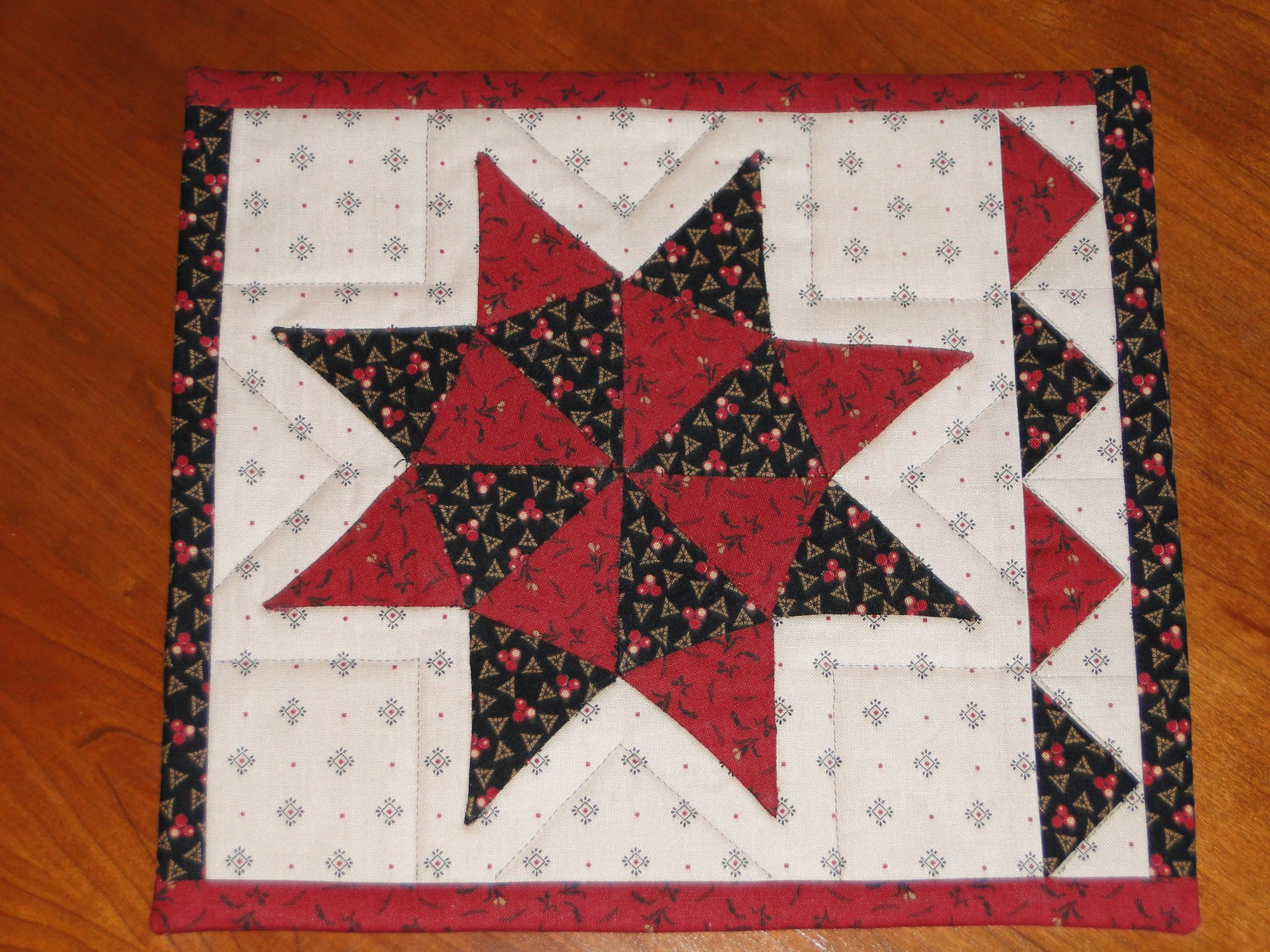 Sugar Rush Mug Rug Quilt Kit
