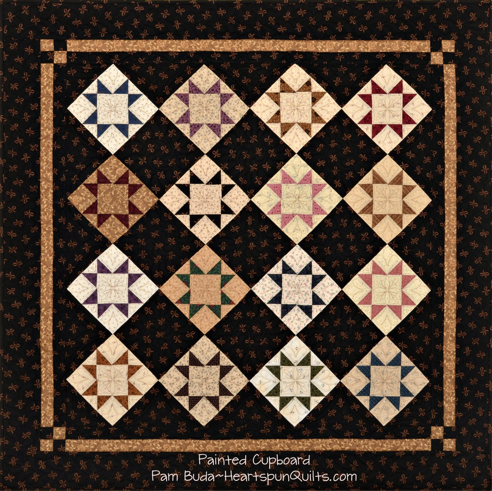 Tokens: Prairie Life Quilt Trio ~ Complete Kit