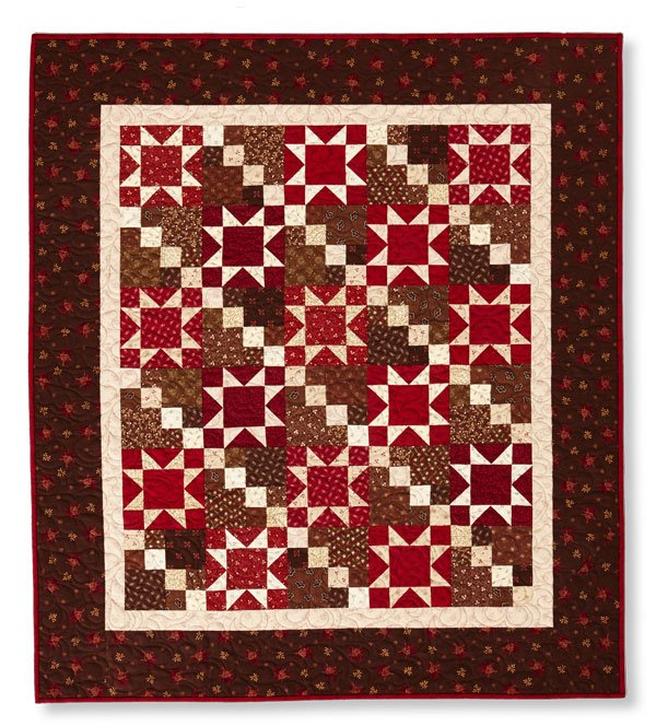 Prairie House Stars Quilt Kit