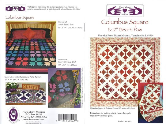 Columbus Square  & 12 Bear's Paw