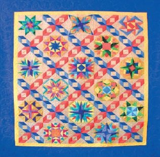 Dancing With The Stars 2017 Paper Piecing Block Of The Month