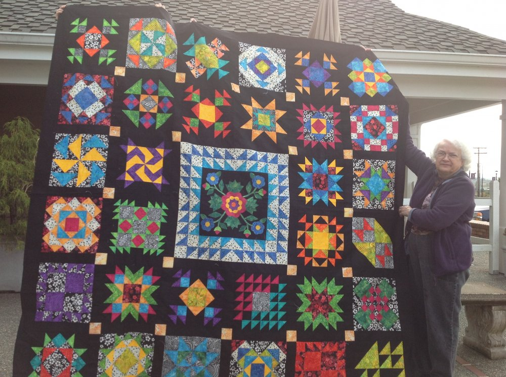 An Amish Sampler Quilt For 2012