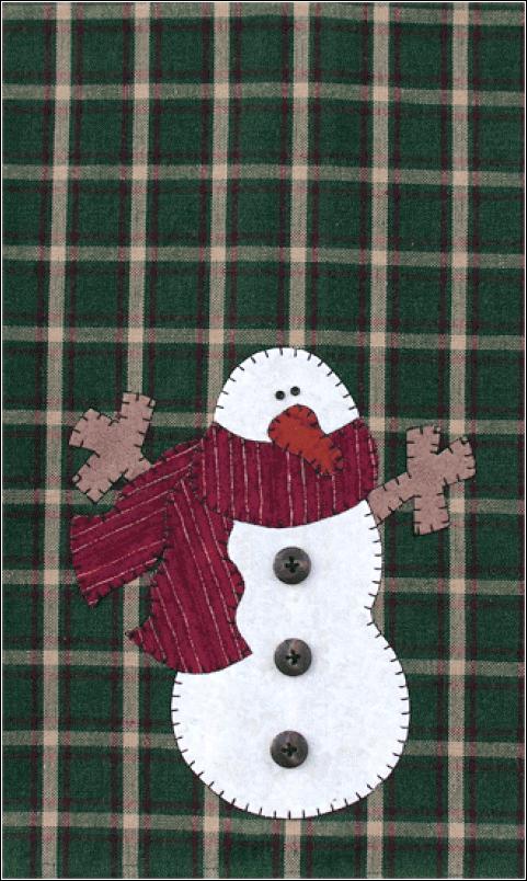 P01 Snowman Patternlet