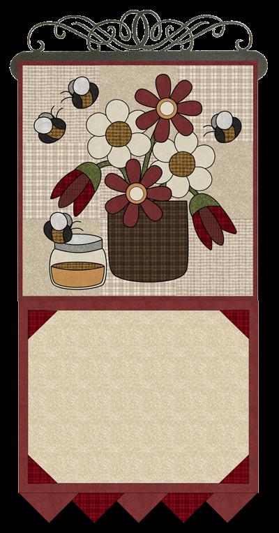 Monthly Calendar Quilt Patterns : L june honey bee