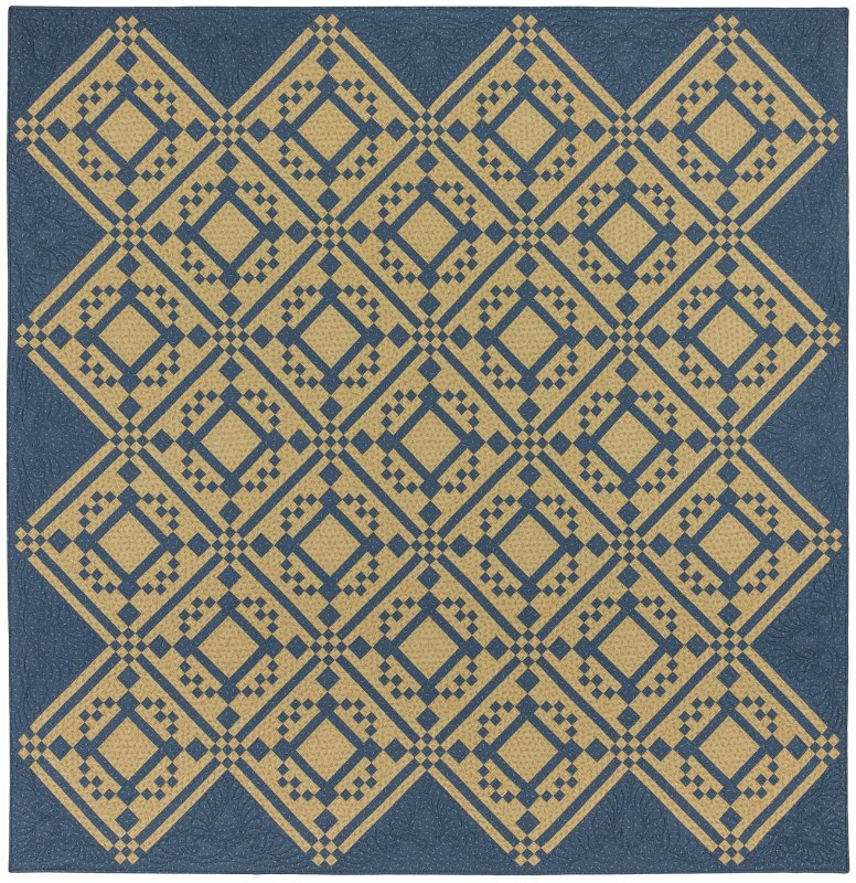 Bonnie Blue - NEW!  We also have backing for this quilt!