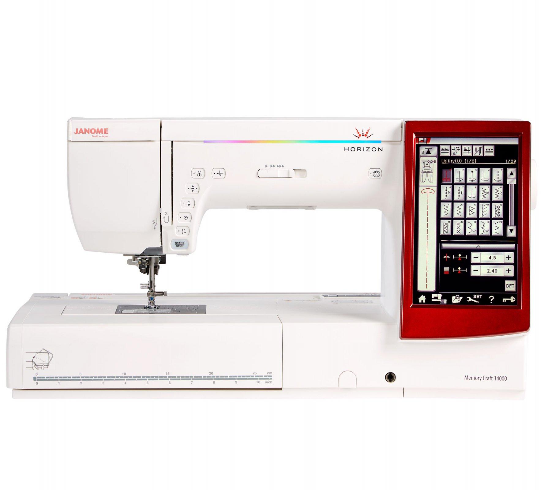 janome memory craft mc350e embroidery machine