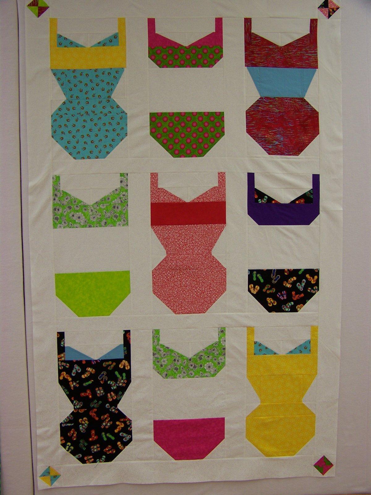 Swimsuit Quilt Kit 7