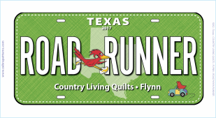 2017 Road Runner License Plate 7