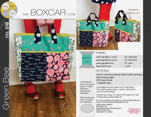 Boxcar Tote