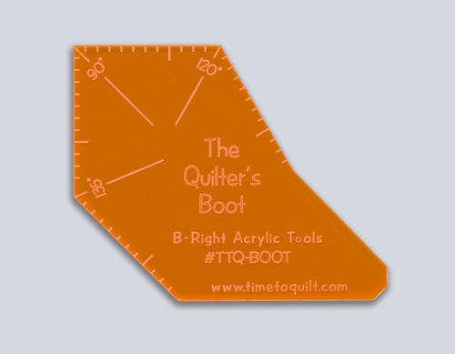 The Quilter's Boot