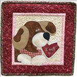 February Dog Pattern