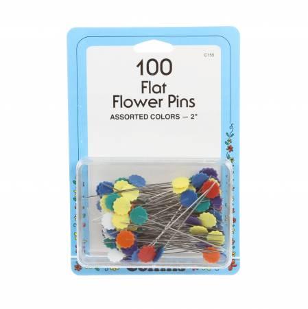 Flower Pin Bonus Pack Size 32 - 2in 100ct