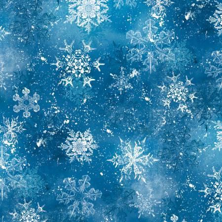 Wilmington Dark Blue Snowflake