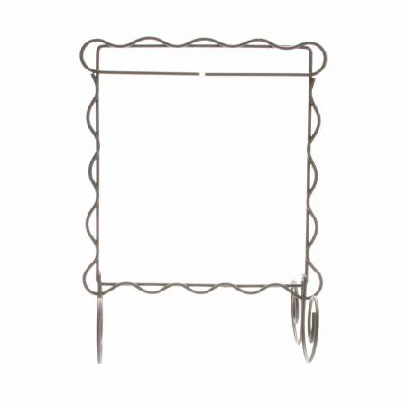 Single Stand Silver Scalloped 6 x 6