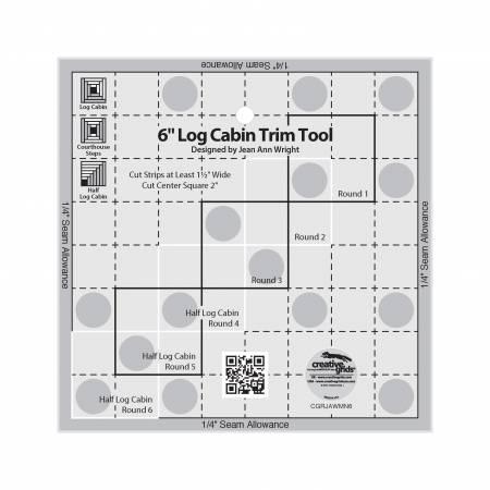 Creative Grids 6in Log Cabin Trim Tool