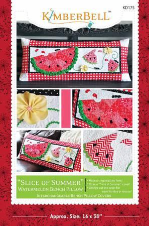 Slice of Summer Watermelon Bench Pillow Pattern