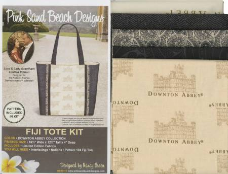 Fiji Tote Downton Abbey Kit