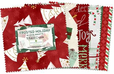 Frosted Holiday 42pcs/bundle
