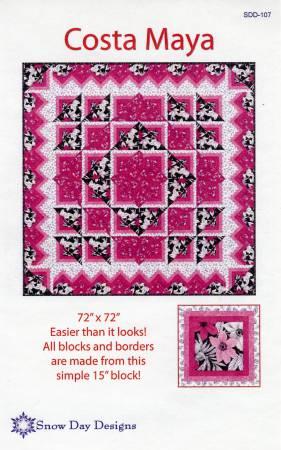 Costa Maya Quilt Pattern 614657441071