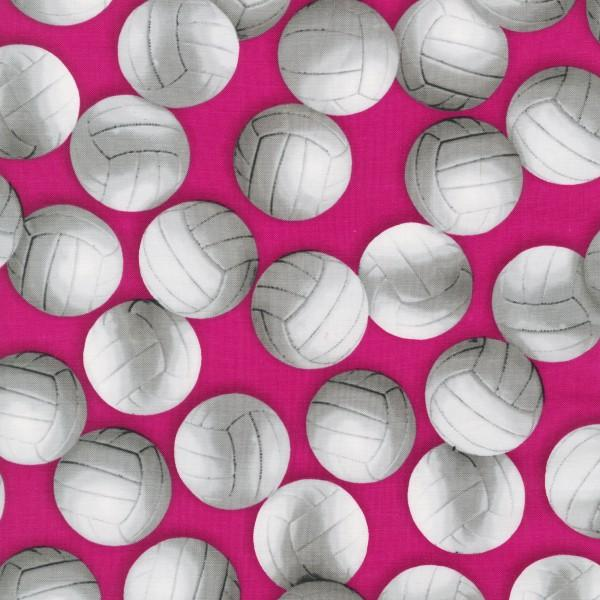 Pink Volleyballs