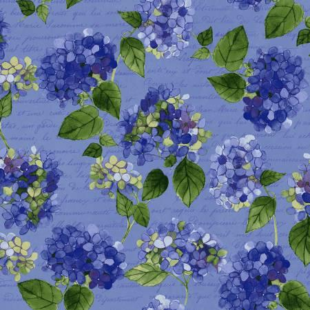 Clothworks Hevenly Hydrangeas Y2255-88