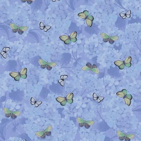 Clothworks Heavenly Hydrangeas Y2257-88